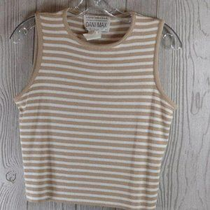Lois Snyder Dani Max Sleeveless Top Large L